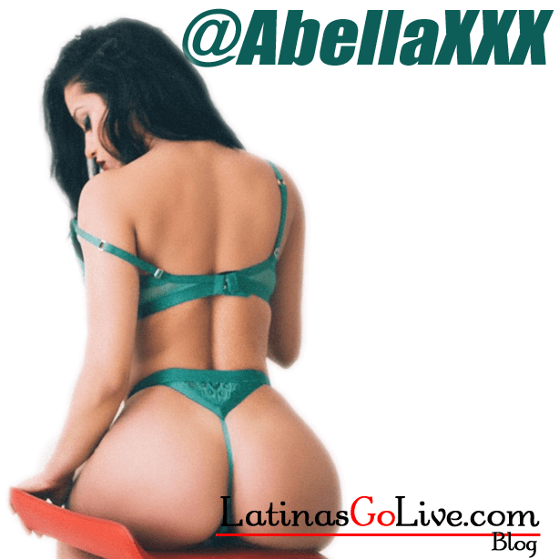 Abella_Anderson_green_lingerie