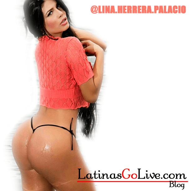Lina Herrera Palacio in a thong