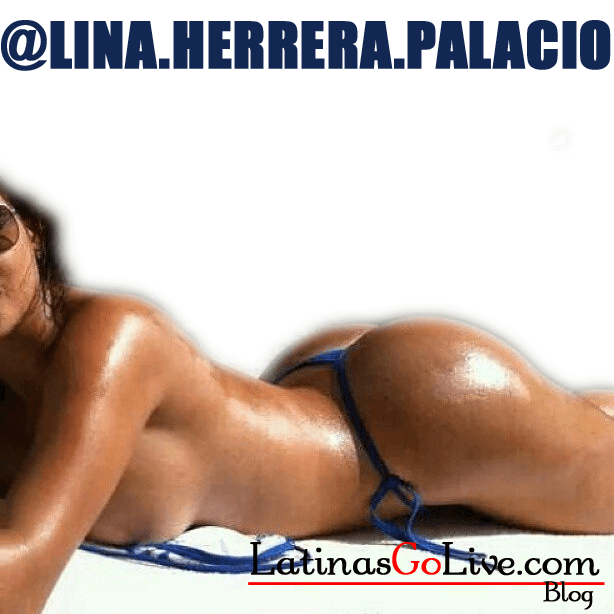 Sexy Latina Lina Herrera tanning nude tanning