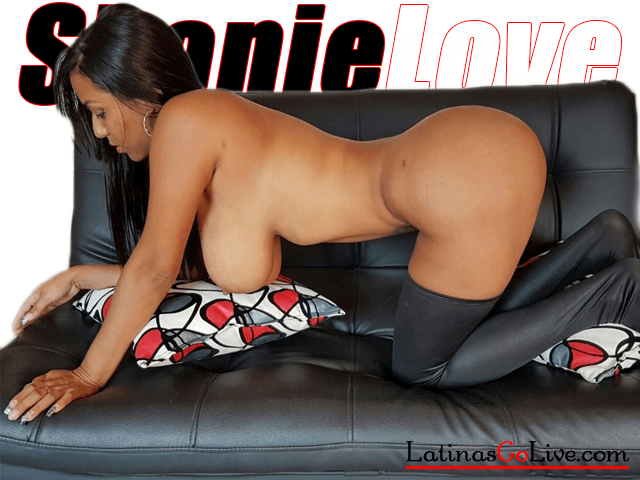 Shanie Love naked in stockings