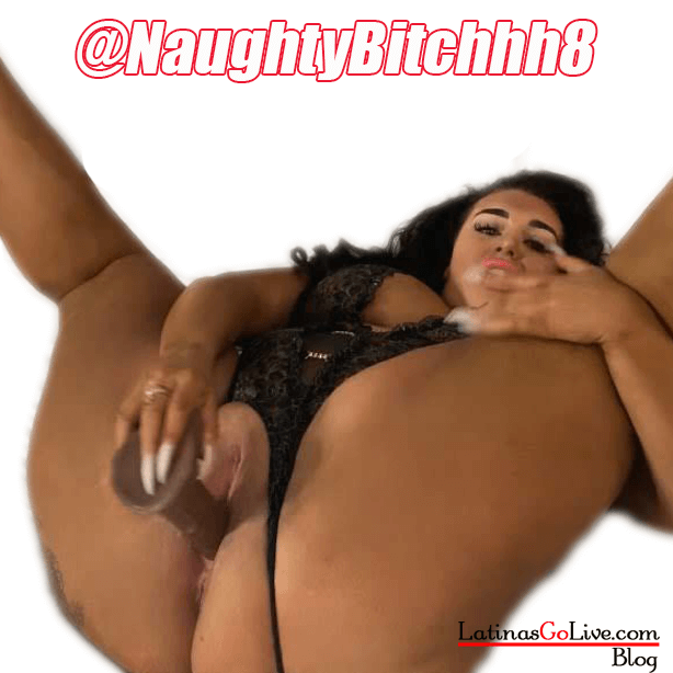 NaughtyBitchhh8 playing with her pussy